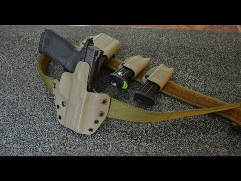 US Grunt Gear Contractor Belt, Holsters and Pouches