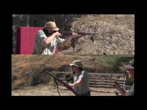 2-Gun Action Match - Enfield vs Mauser