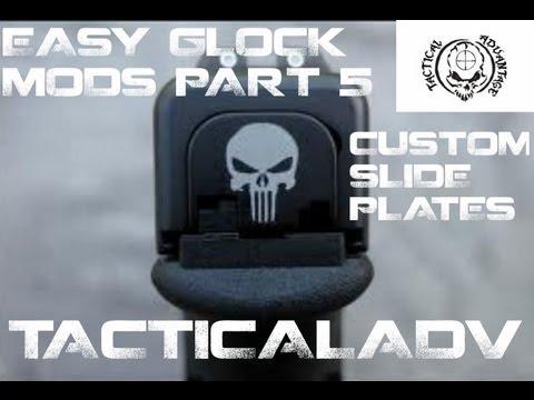 Easy Glock Modifications - Installing a Custom Back Plate