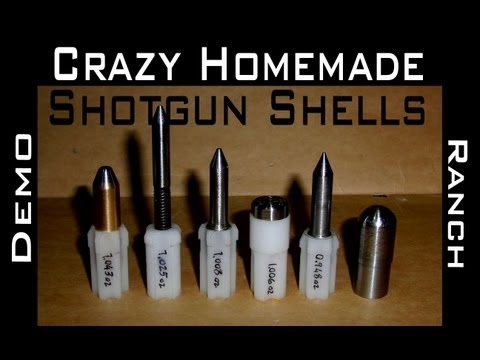 Homemade 12 Gauge Rounds