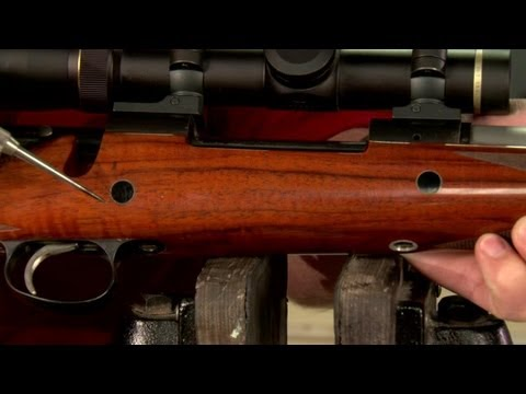 Installing Magnum Crossbolts in a Rifle Stock