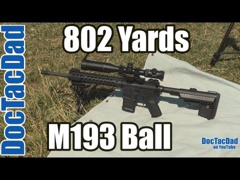 Project SPR - Long Range - M193 5.56x45 NATO