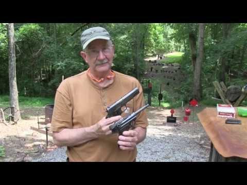 Luger P08 vs Colt 1911