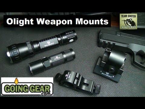 Olight Flashlight Weapon Mounts