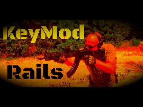Krebs Custom KV-13 KeyMod Rail System
