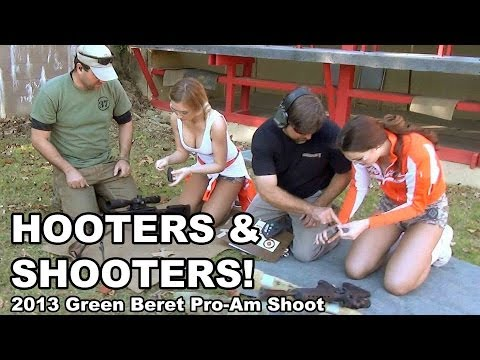 Hooters and Shooters – Green Beret Pro-Am Shoot 2013