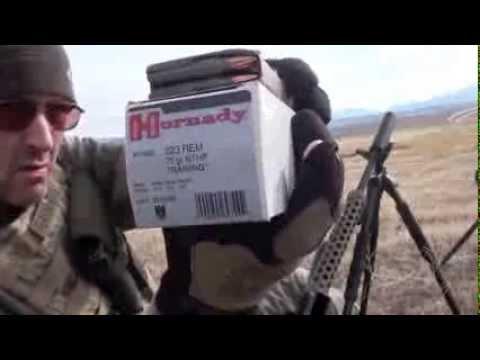 Hornady 223 Rem 75gr BTHP Training Ammo