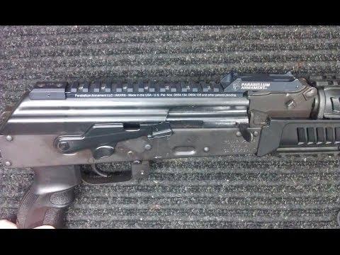 Draco-C AK Pistol Upgrade – Parabellum Armament AKARS