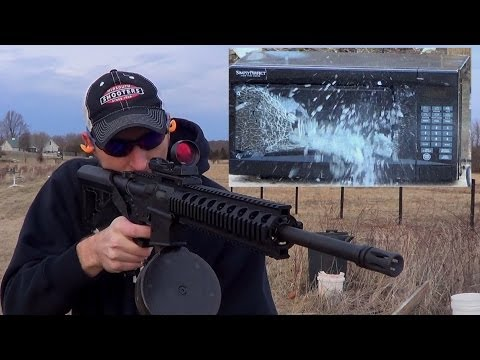 Smith & Wesson M&P 15-22 vs Microwave