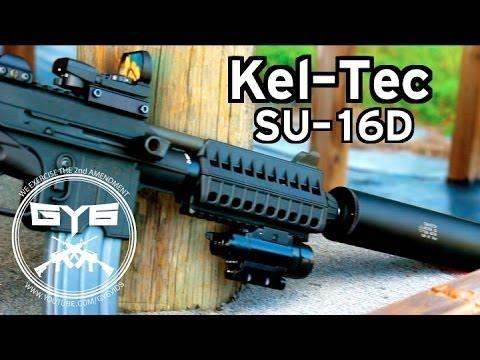 Suppressed Kel-Tec SU-16D