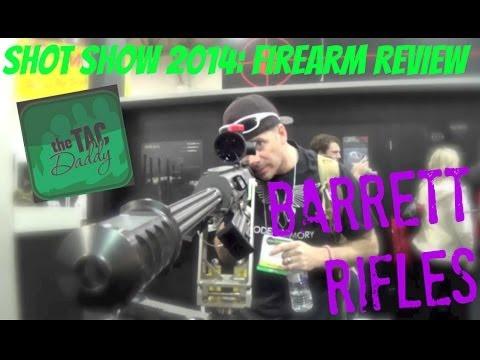 Barrett 50 Caliber Rifles