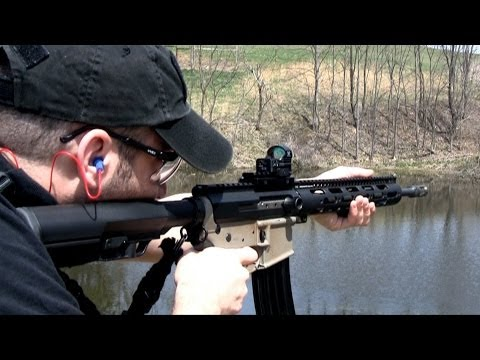 AR-15 Rifle with XSR-15 Side Charging Receiver