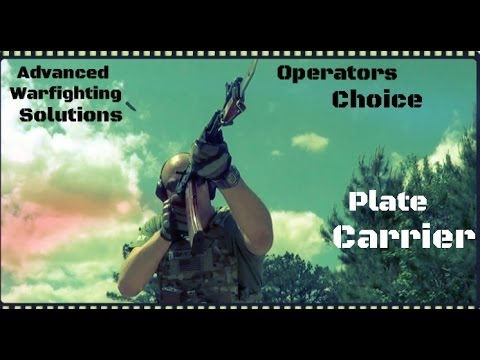 AWS Operators Choice Plate Carrier