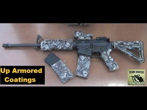 DuraCoat Skull Coated AR-15 Rifle