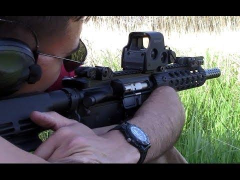 Noveske AR-15 Pistol Test
