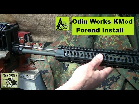 Odin Works KMod Forend Installation