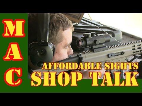 Affordable Rifle Optics