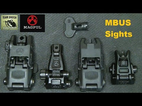 Magpul MBUS Pro Sights