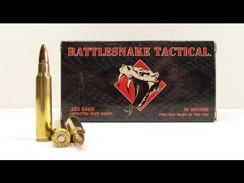 Rattlesnake Tactical .223 Ammo