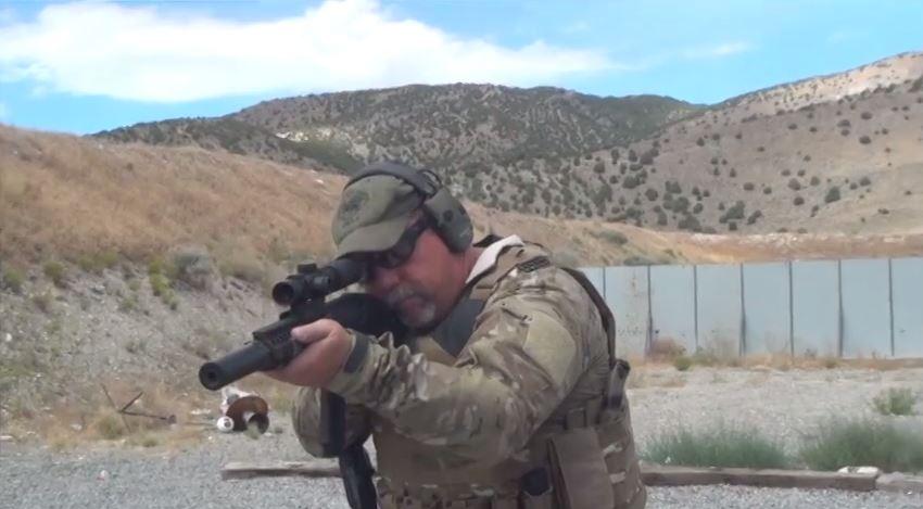 Daniel Defense MK18 SBR Range Demo