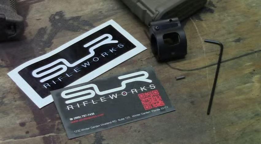 SLR Rifleworks Sentry 7 Adjustable Gas Block