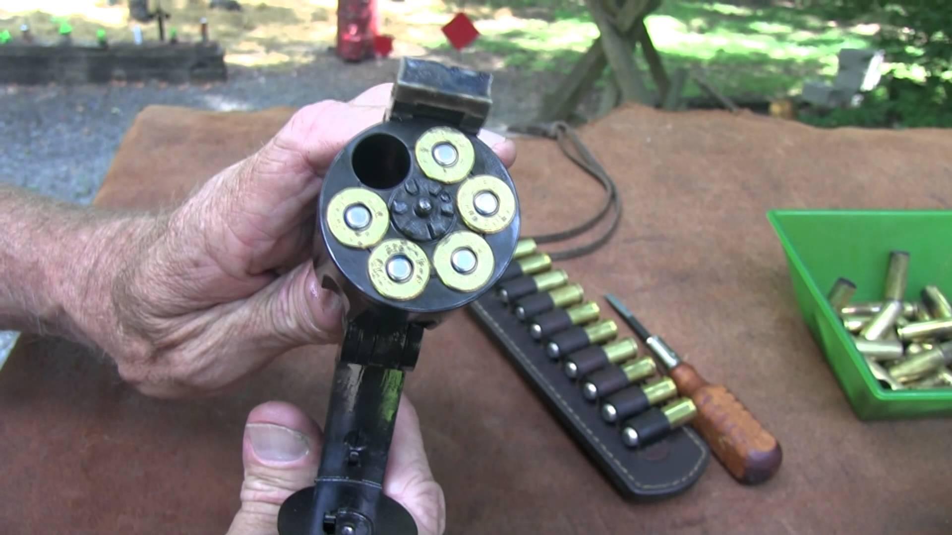 Uberti Schofield Top-Break Revolver