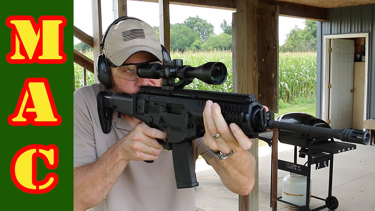 Range Demo - Robar SR21, Beretta ARX100, MGI Hydra