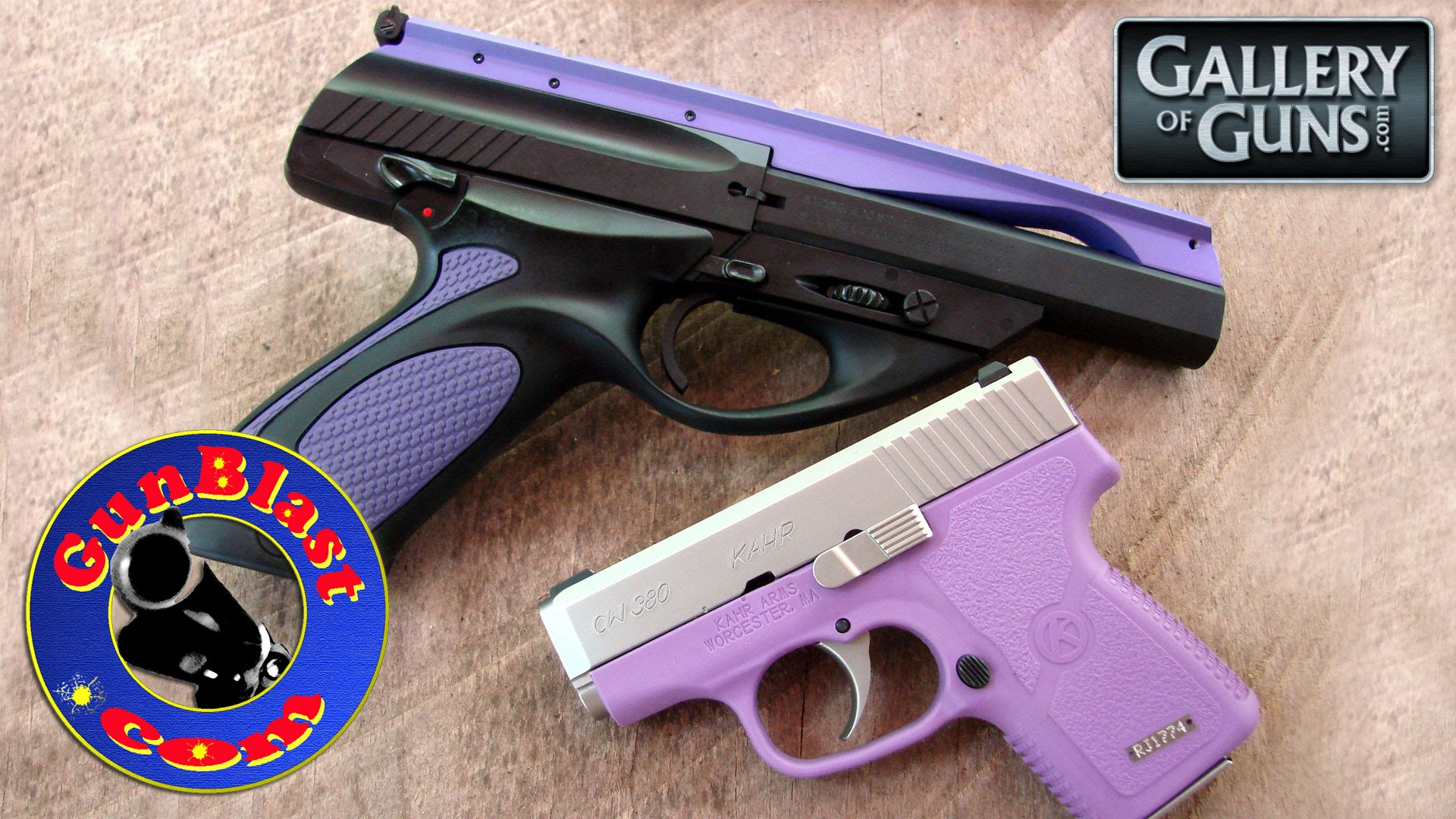 Special Edition Beretta U22 Neos and Kahr CW380