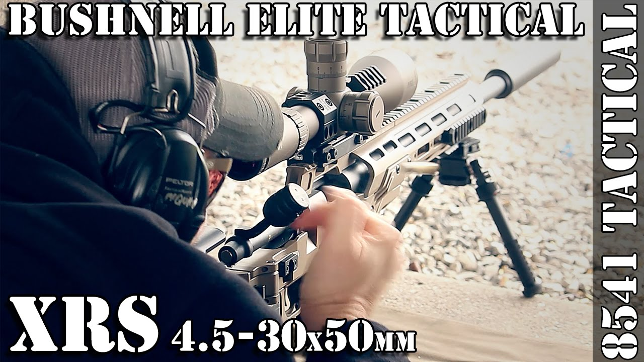 Bushnell Elite Tactical XRS 4.5-30x50mm