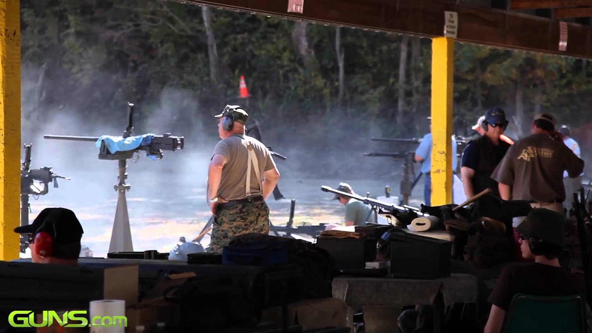 Knob Creek Machine Gun Shoot Compilation