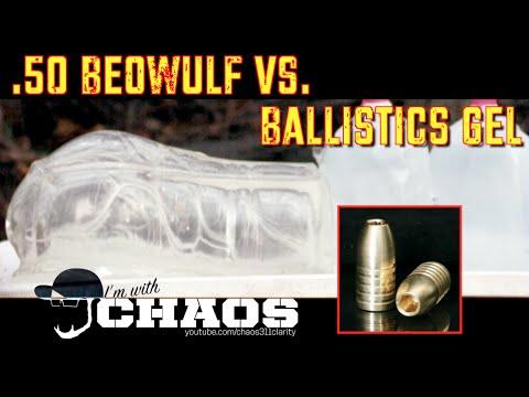 50 Beowulf vs Ballistics Gel