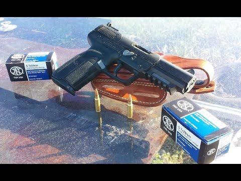 FN Five-seveN vs Bulletproof Glass