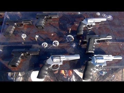 Handgun Calibers vs Bullet Proof Glass