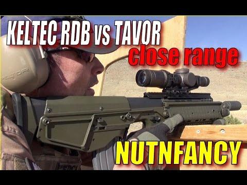 Bullpup Comparison - Kel-Tec RDB vs IWI Tavor