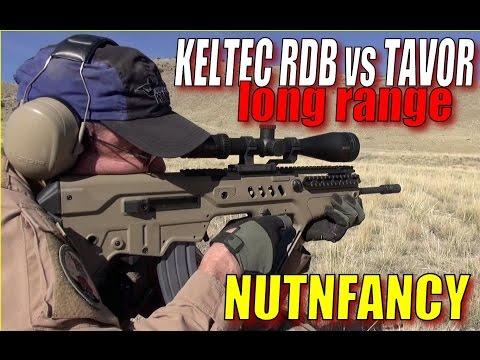 Kel-Tec RDB vs IWI Tavor Long Range Run and Gun