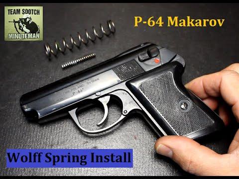 P-64 Pistol Wolff Spring Installation