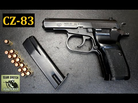 CZ 83 Pistol