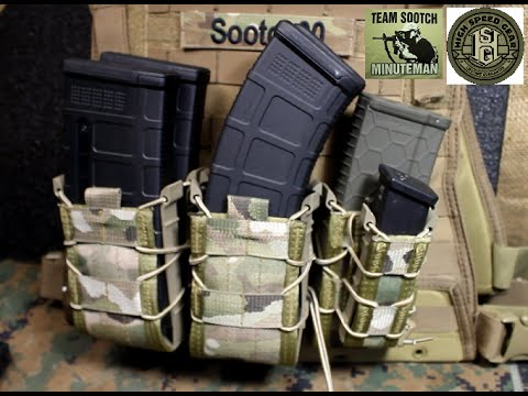 High Speed Gear MOLLE Taco Mag Pouches