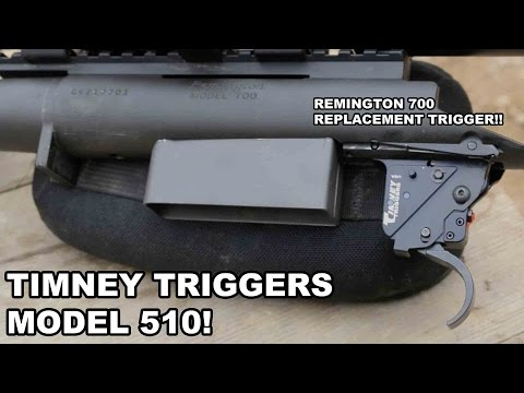 Remington 700 Replacement Trigger - Timney 510