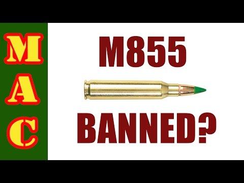 BATF to Ban M855 Ammo