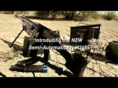 FN M249S - Semi-Automatic Version of the M249 SAW