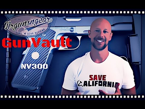 GunVault NanoVault 300 Safe