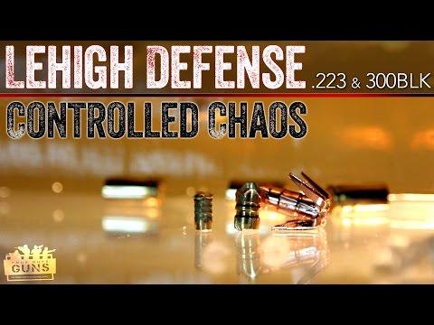Lehigh Defense Ammunition Review