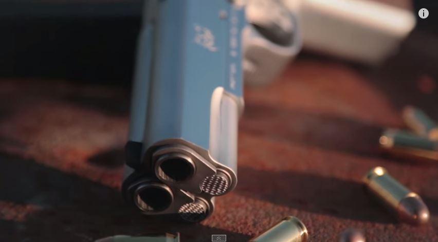 Arsenal Firearms 2011-A1Double Barrel Pistol