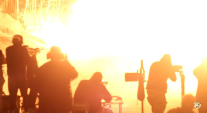 Knob Creek Machine Gun Shoot Night Finale