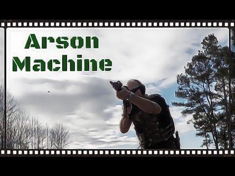 Arson Machine M-LOK Light Mount - Gun Videos