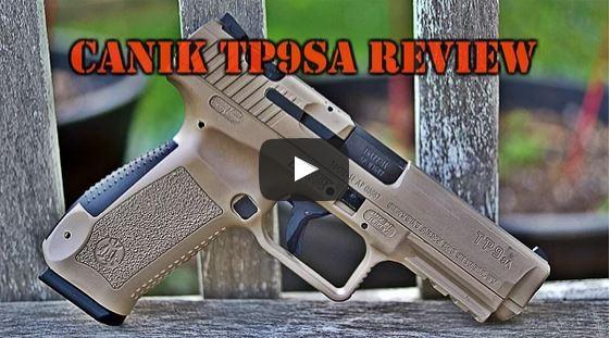 Canik TP9SA Pistol Review