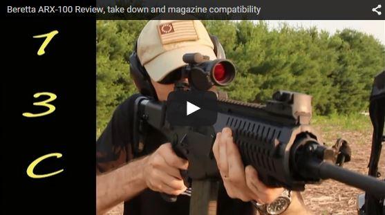Beretta ARX-100 Review and Range Demo