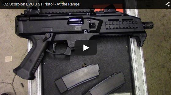 CZ Scorpion EVO 3 S1 Pistol Range Demo