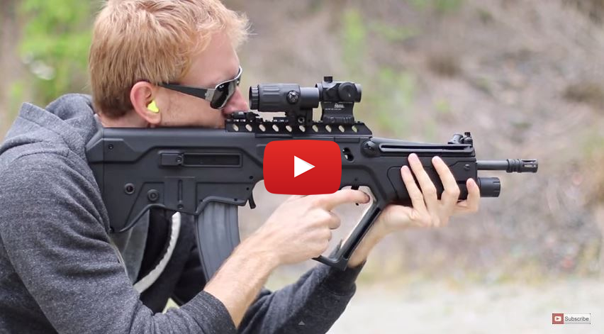 IWI Tavor Modifications from Geissele and Gear Head Works